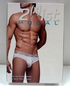 $12.99 - 2(X)Ist Men Underwear Modal No-Show Brief Modal,Spandex Solid 2Xist 1420 (T7,9) #ebay #Fashion