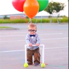 """Little """"old man"""" from Disney's UP. So adorable!"""