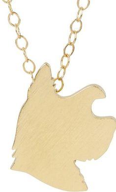 yorkie charm necklace