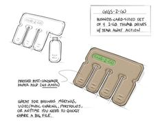 """Gigs 2 Go is a credit-card-sized pack of USB flash drives, with """"Tear-and -Share"""" technology. Simply tear off a tab when you need to quickly share files on-the-go. Gigs 2 Go is made from 100% post-consumer molded paper pulp. In December 2013 we launched a…"""