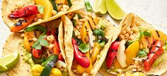 Peach and Pepper Tacos
