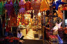Paharganj Market in New Delhi
