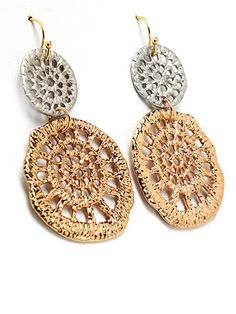 Style Tryst Cut Out Drop Earrings, Style Tryst Earrings, Style Tryst Jewelry, Style Tryst Free Shipping