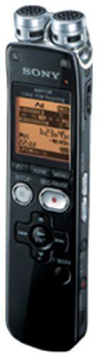 Sony ICD-SX712 Digital Flash Voice Recorder by Sony. $119.99. Sony ICD-SX712 Digital Flash Voice Recorder has a built-in 2GB memory with an SD card slot, which affords an additional 16GB of storage capacity for lectures, notes, music, meetings or any other audio you may want to record. The maximum recording time afforded by the internal memory is 500+ hrs, but a 16GB microSD card can expand the ICD-SX712's maximum recording time upwards of 4000+ hrs.Making recordin...