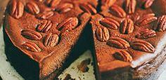 Cheesecake σοκολάτας με κέικ Greek Recipes, Cheesecakes, Deserts, Sweets, Gummi Candy, Candy, Greek Food Recipes, Cheesecake, Postres