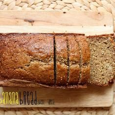 Whole Wheat And Millet Banana Bread