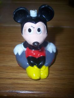 Vintage Mickey Mouse Fishing Bobber! :)