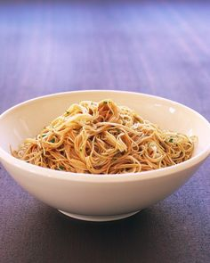Noodles with Sesame Dressing