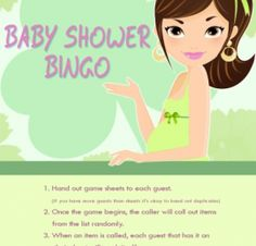 Cute St Patricks Day Theme Baby Shower Game