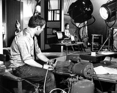 Behind the scenes on the set of Thunderbirds