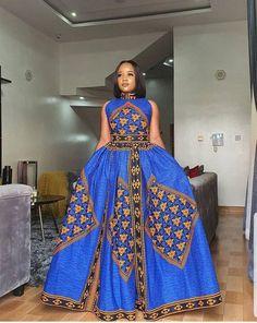 Dresses Short, Latest African Fashion Dresses, African Print Dresses, African Dresses For Women, African Print Fashion, African Attire, African Women, Ankara Fashion, Fashion Skirts