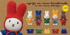 home - Just Dutch Miffy, Banners, Dutch, Knit Crochet, Cartoon, Dolls, Christmas Ornaments, Knitting, Holiday Decor