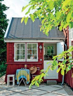 UNA CASA ROJA EN DINAMARCA / A RED HOME IN DENMARK | desde my ventana | blog de decoraci�n |