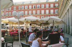 plaza mayor Plaza, Madrid, Dolores Park, Street View, Travel, Viajes, Destinations, Traveling, Trips