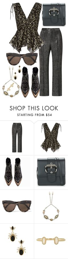 """""""21.12.17"""" by valeriapc ❤ liked on Polyvore featuring Isabel Marant, 10 Crosby Derek Lam, Zadig & Voltaire, Vivienne Westwood, Le Specs, Kendra Scott and Anton Heunis"""
