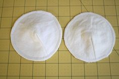 DIY reusaable breast pads, use this one! has a dart, will look better.  Suggest 6-8 layers of cotton or flannel.  Can use a layer of wool felt for wicking too.  USES ALL MATERIALS I already have.  B's shirt would be great for soft inner layer.  Could use green sheets too.  Ideally have 10 sets.