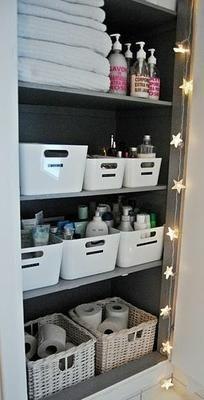Soluciones fáciles y prácticas para tener el baño siempre en orden. ¡Toma nota de estas ideas!