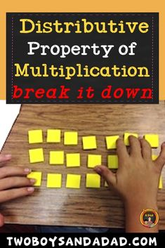 The Distributive Property of Multiplication is introduced in third grade. - Teaching Multiplication and Division! Distributive Property Of Multiplication, 4th Grade Multiplication, Multiplication Activities, Third Grade Math, Ninth Grade, Seventh Grade, Math Math, Math Fractions, Numeracy