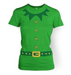 253d278b748 Elf T-Shirt Christmas Costume
