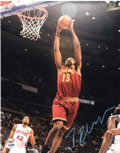 Tristan Thompson Autographed 11x14 Photo - PSA/DNA #SportsMemorabilia #ClevelandCavaliers Tristan Thompson, Dna, Legends, Hero, The Originals, Concert, Concerts, Gout