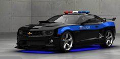 Camaro Ss Police Car by monkeyfan250.deviantart.com on @DeviantArt