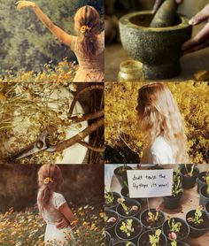 """HARRY POTTER AESTHETICS - HANNAH ABBOTT-LONGBOTTOM  """"No one is useless in this world who lightens the burdens of another.""""   ― Charles Dickens   """"I want to be a healer, and love all things that grow and are not barren.""""   ― J.R.R. Tolkien"""