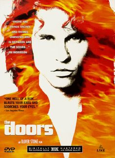 Val Kilmer as Jim Morrison. Not sure it gets any better than that.