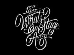 WhatsOnStage Awards Sketch 2 by Neil Secretario