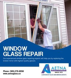 If you looking for window glass repair in Mississauga, contact Aetna Glass and Mirrors. Window Glass Repair, Broken Mirror, Join, Windows, Detail, Window, Ramen