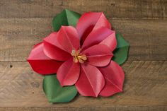 Poinsettia by Lia Griffith for Hero Arts