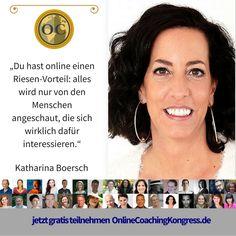 Katharina Boersch fokusiert sich auf Perspektivenwechsel mit System. Als Coach begleitet sie dabei Menschen online und vor Ort und lebt dabei ihren Traum aus. Erfahre mehr im Interview beim #OnlineCoachingKongress: