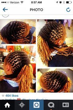 LovelyLocs #naturalhair Men Dread Styles, Dreadlock Styles, Dreads Styles, Curly Hair Styles, Natural Hair Styles, Creative Hairstyles, Cool Hairstyles, Ladies Hairstyles, Braided Dreadlocks