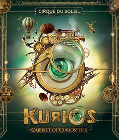 KURIOS – Cabinet of Curiosities   Cirque du Soleil   A must-see to disbelieve