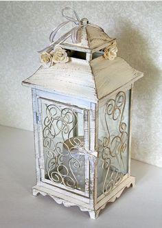 Wedding 10in Lantern Centerpiece Vintage Antique by DazzlingGRACE, $40.00