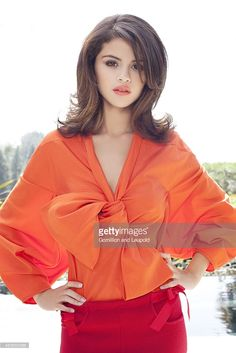 Selena Gomez is photographed for Elle Magazine on March 1, 2012 in Los Angeles, California.