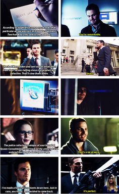 Arrow - Oliver & Felicity #Olicity <3