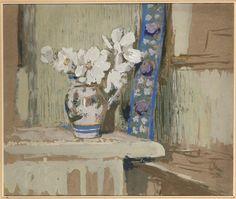 Vuillard Edouard (1868-1940) Le bouquet d'anémonesvers 1912