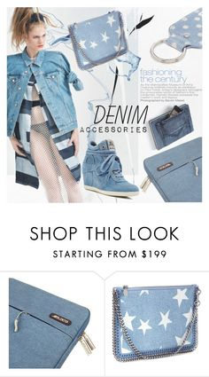 """""""Untitled #1305"""" by blackfury ❤ liked on Polyvore featuring Ash, denim and blackfury"""
