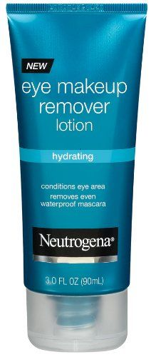 Neutrogena Hydrating Eye Makeup Remover Lotion, 3 Ounce (Pack of 3) for only $22.99