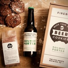 Der etwas andere Snack: Bier Cookies zum Selbermachen mit Bier-Geschmack für fröhliche Partys und Fernsehrunden.
