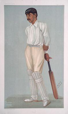 Spy cricket print - Ranji