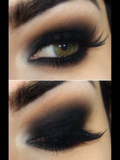 Eye makeup is a fundamental element of make-up, which is remarkably under-rated. Smokey eye makeup has to be accomplished accurately to be able to make you look stunning. A complete smokey eye make… Beauty Make-up, Beauty Hacks, Hair Beauty, Beauty Tips, Asian Beauty, Eyeliner Hacks, Eyeliner Pencil, Black Eyeliner, Smokey Eyeliner