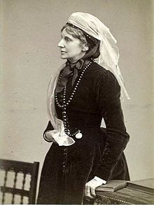 Josephine Elizabeth Butler (13 April 1828 – 30 December 1906) was a Victorian era British feminist who was especially concerned with the welfare of prostitutes. She led the long campaign for the repeal of the Contagious Diseases Acts both in Britain and internationally from 1869 to 1886.