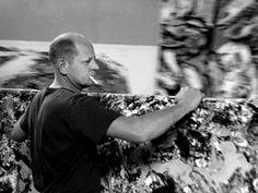 Jackson Pollock photographed by Tony Vaccaro