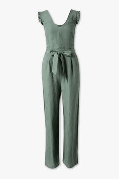 Jumpsuit - linen blend now at the C&A online shop – Fast delivery✓ Top quality✓ Great prices✓ Sparkly Jumpsuit, Backless Jumpsuit, Jumpsuit Dress, Summer Jumpsuit, Women's Work Overalls, Capes For Women, Clothes For Women, Tailored Jumpsuit, Fashion Jackson