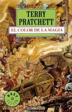 EL LIBRO DEL DÍA     El color de la magia, de Terry Pratchett.  http://www.quelibroleo.com/el-color-de-la-magia-una-novela-del-mundodisco 11-9-2012