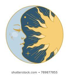 Vinyl Record Art, Vinyl Art, Vinyl Records Decor, Cd Art, Aesthetic Painting, Moon Art, Art Drawings, Round Frame, Retro Style