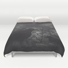 Buy ultra soft microfiber Duvet Covers featuring Theres someone at the door by HappyMelvin. Hand sewn and meticulously crafted, these lightweight Duvet Cover vividly feature your favorite designs with a soft white reverse side.