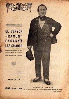 El senyor Ramon enganya les criades - Lluis Planas de Taverne -LA ESCENA CATALANA nº 118 - 30.11.1922