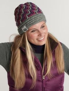 Ladies' Crochet hat pattern for free